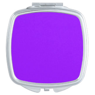 Electric Violet Compact Mirror