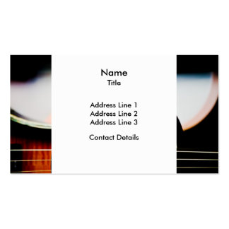 Electric Violin Business Card