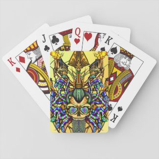 Electric Voodoo playing cards