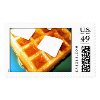 Electric Waffles Postage Stamps