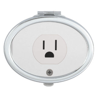 Electric Wall Outlet Mirror For Makeup