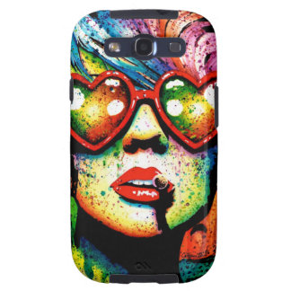 Electric Wasteland Heart Shaped Sunglasses Pop Art Samsung Galaxy S3 Covers