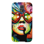 Electric Wasteland Heart Shaped Sunglasses Pop Art Cases For Galaxy S5