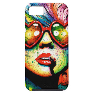 Electric Wasteland Heart Shaped Sunglasses Pop Art iPhone 5 Cover