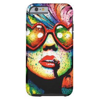 Electric Wasteland Heart Shaped Sunglasses Pop Art Tough iPhone 6 Case