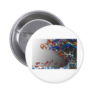 Electric Wave Pinback Button