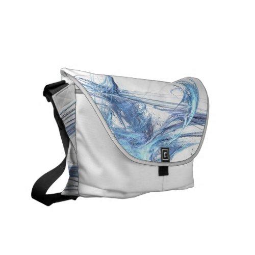 Electric Waves Messenger Bag rickshaw_messengerbag