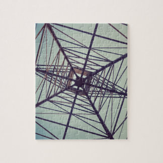ELECTRIC WEB: Power & Nature Jigsaw Puzzle