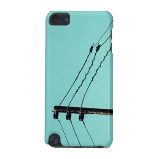 Electric Wires and Blue Sky iPod Touch (5th Generation) Cover
