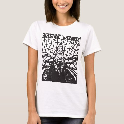 Electric Wizard Sludge Metal Psychedelic Graphic P T_Shirt
