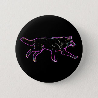 Electric Wolf Button