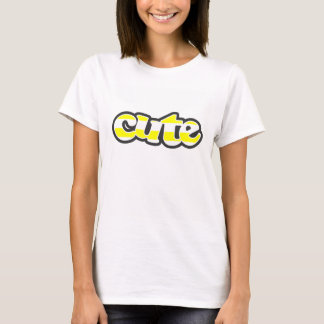 Electric Yellow Horizontal Stripes T-Shirt