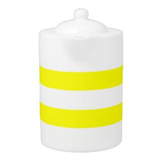 Electric Yellow Horizontal Stripes