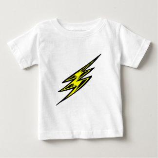 Electric Yellow Lightning Bolt Baby T-Shirt