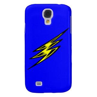 Electric Yellow Lightning Bolt Samsung S4 Case