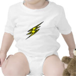Electric Yellow Lightning Bolt Shirt