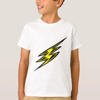 Electric Yellow Lightning Bolt T-Shirt