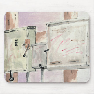 Electrical Boxes Mousepad