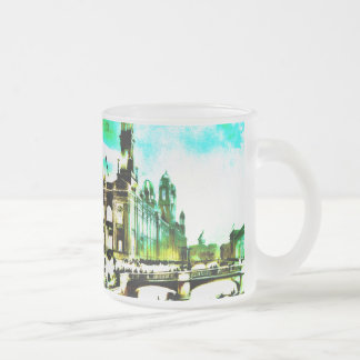 Electrical building, World's Fair, Chicago, 1892 10 Oz Frosted Glass Coffee Mug