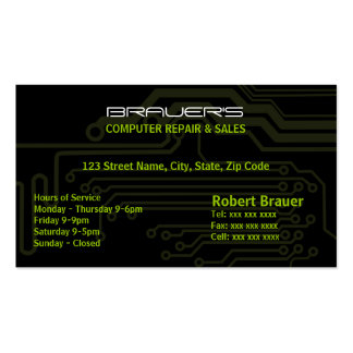 Electrical Circuit Board Business Card