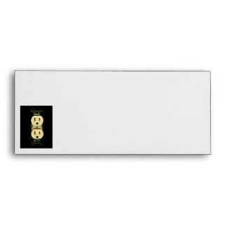 Electrical contractor outlet electricians business envelope