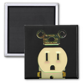Electrical contractor outlet electricians business magnet