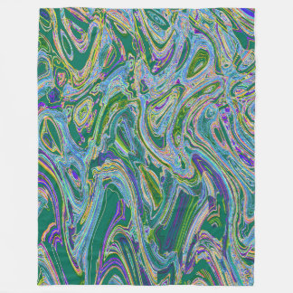 ELECTRICAL DISCHARGE HIGH ABOVE MICUNA THREE FLEECE BLANKET