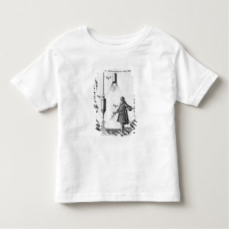 Electrical discharge of bodies toddler t-shirt