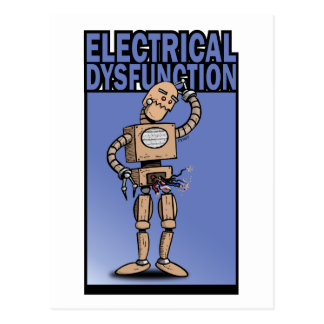 Electrical Disfunction Post Card