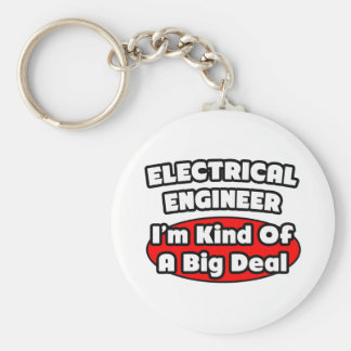 Electrical Engineer...Big Deal Basic Round Button Keychain