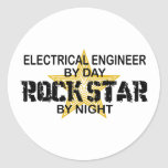 Electrical Engineer by Rock Star Sticker