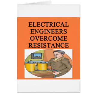 electrical engineer greeting cards