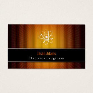 Electrical Engineer | Construction Business Card