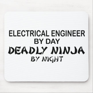 Electrical Engineer Deadly Ninja Mouse Pads
