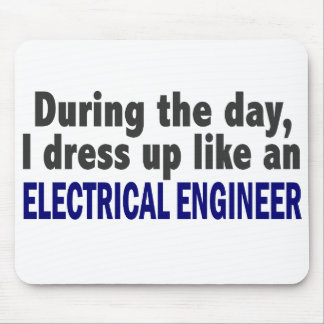 Electrical Engineer During The Day Mouse Pad