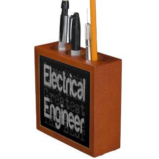 Electrical Engineer Extraordinaire Desk Organizer