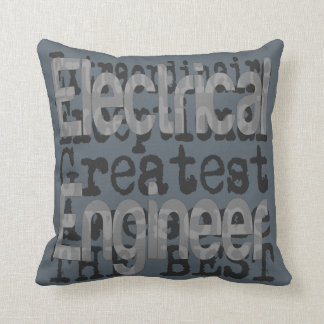 Electrical Engineer Extraordinaire Throw Pillow