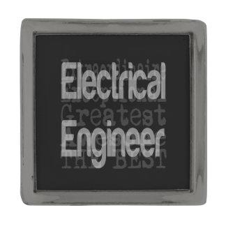 Electrical Engineer Extraordinaire Gunmetal Finish Lapel Pin