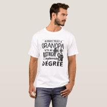 Electrical Engineer Grandpa T shirt
