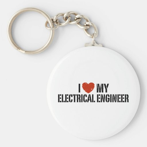 Electrical Engineer Keychains