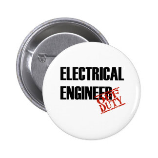 ELECTRICAL ENGINEER LIGHT PINBACK BUTTON