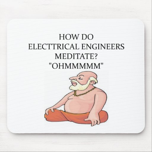 ELECTRICAL engineer Mousepad