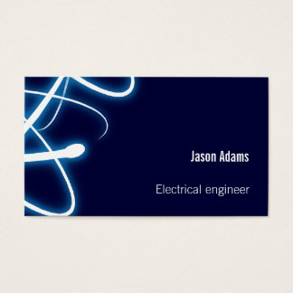 Electrical Engineer | Navy Blue Business Card
