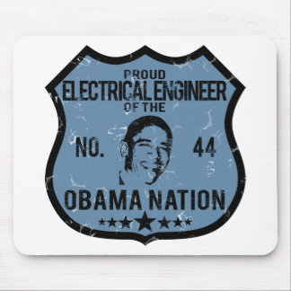 Electrical Engineer Obama Nation Mouse Mat