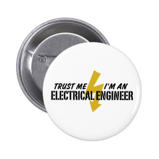 Electrical Engineer Pinback Button
