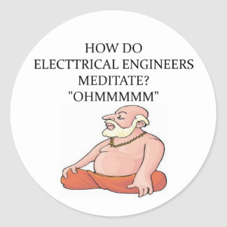 ELECTRICAL engineer Stickers