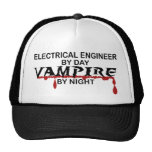 Electrical Engineer Vampire by Night Trucker Hats