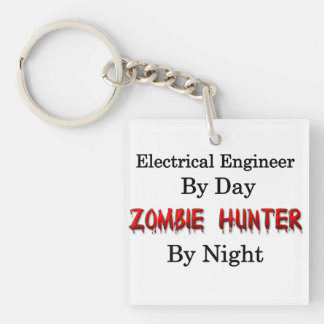 Electrical Engineer/Zombie Hunter Keychain
