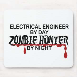 Electrical Engineer Zombie Hunter Mousepad