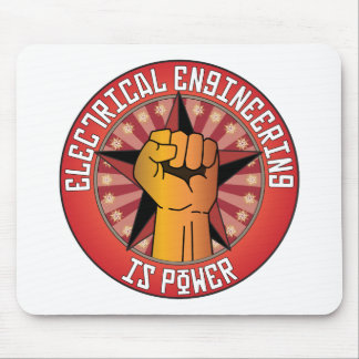 Electrical Engineering Is Power Mouse Pad